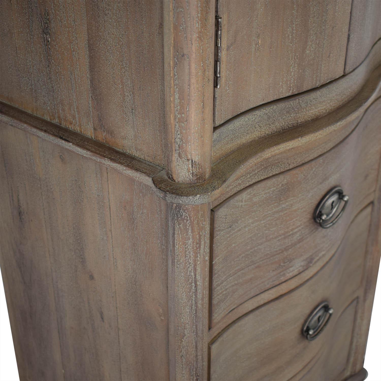 shop Restoration Hardware Restoration Hardware Empire Rosette Tall Cabinet online