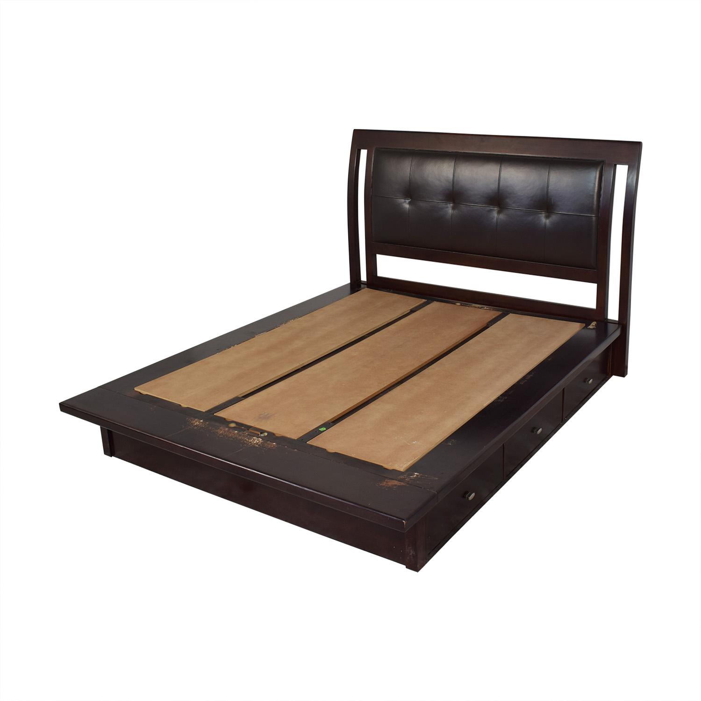 American Drew Queen Storage Bed sale