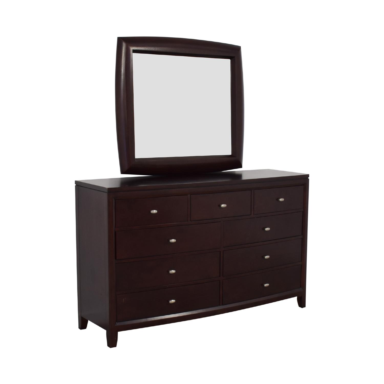 American Drew American Drew Dresser with Mirror Dressers