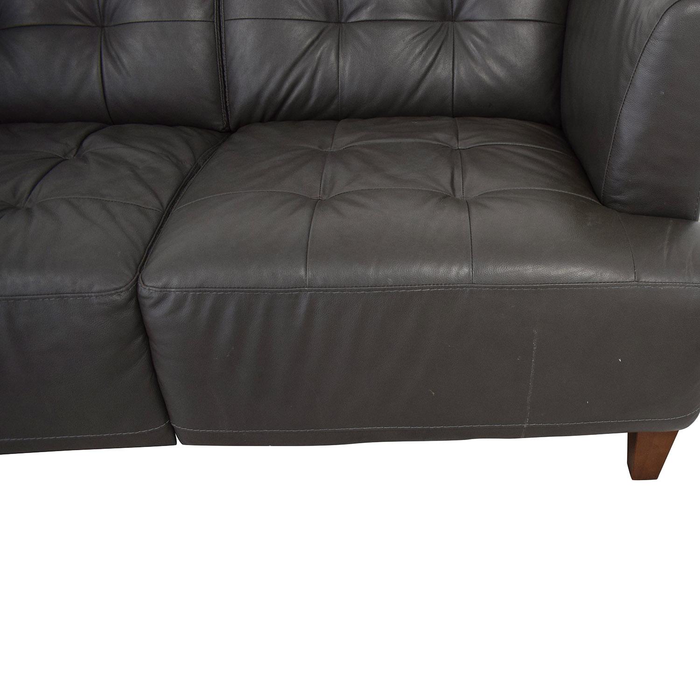 Macy's Macy's Tufted Sofa for sale