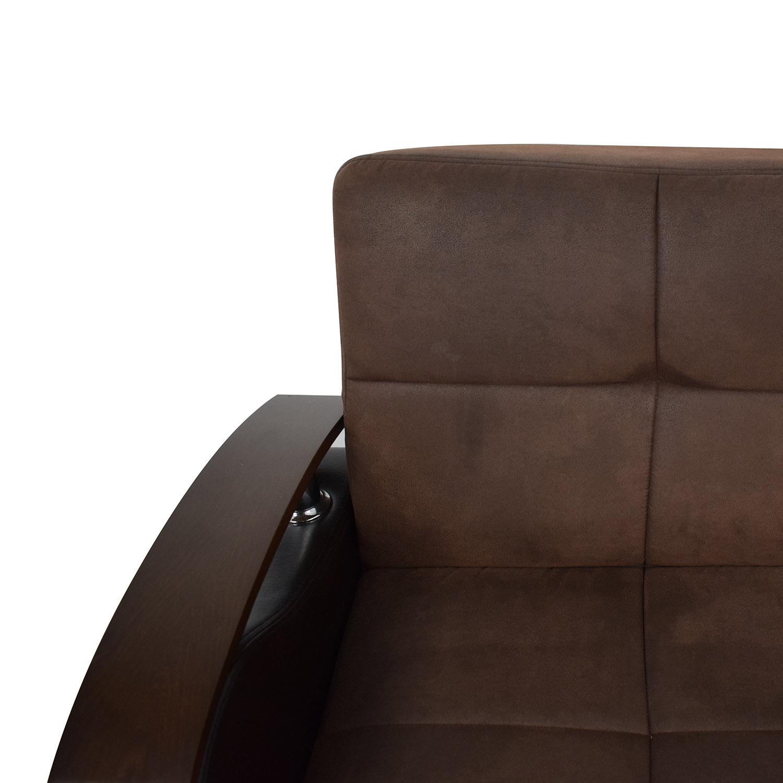 Bellona Bellona Brown Futon Couch coupon