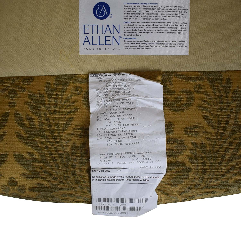 Ethan Allen Ethan Allan Evette Settee dimensions