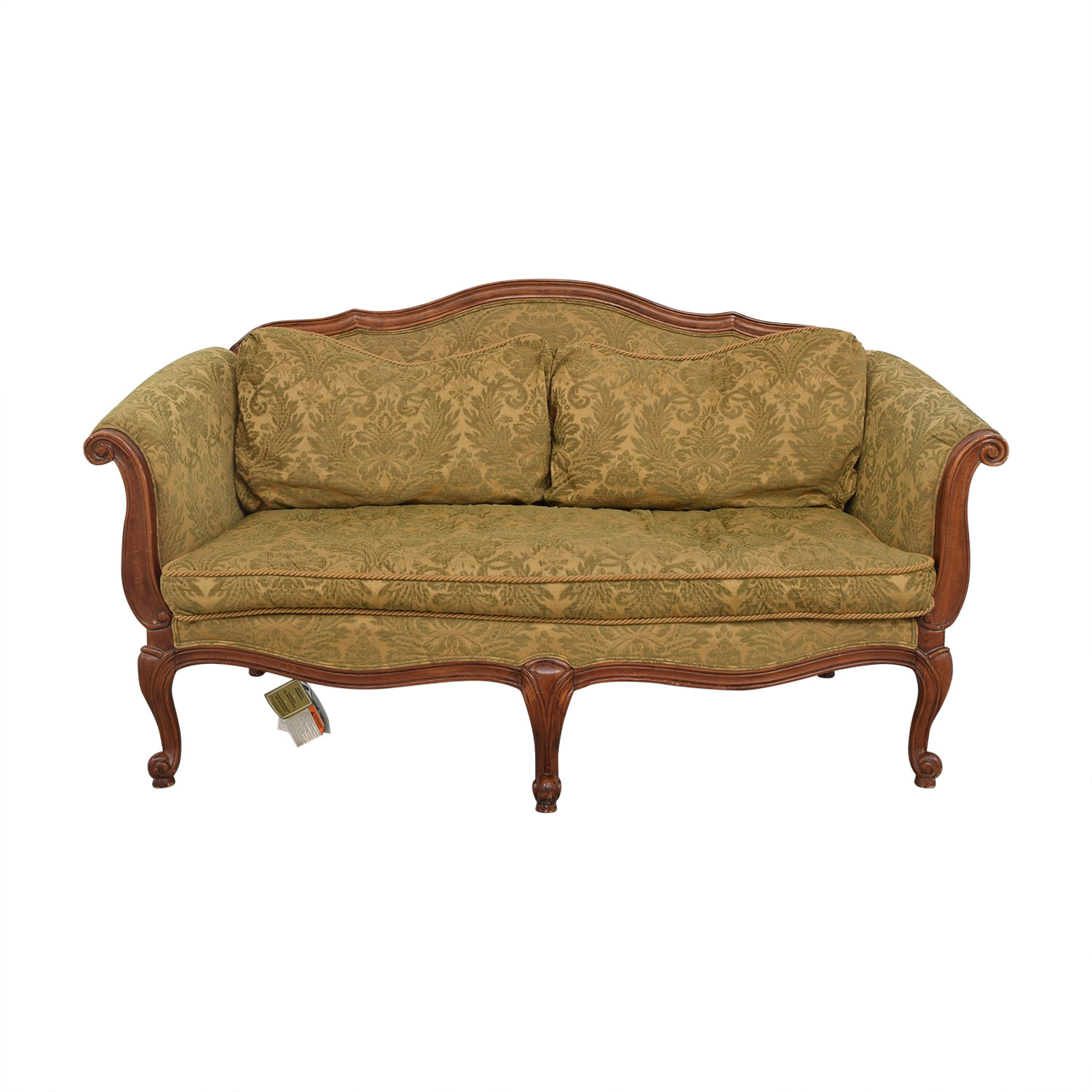 buy Ethan Allan Evette Settee Ethan Allen Classic Sofas
