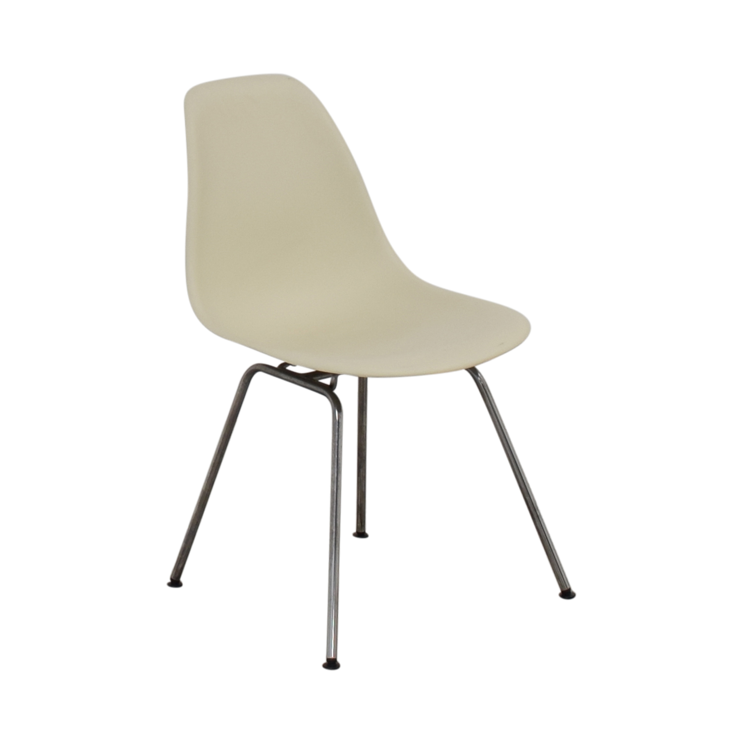 shop Design Within Reach Design Within Reach Eames Molded Plastic 4 Leg Side Chair online