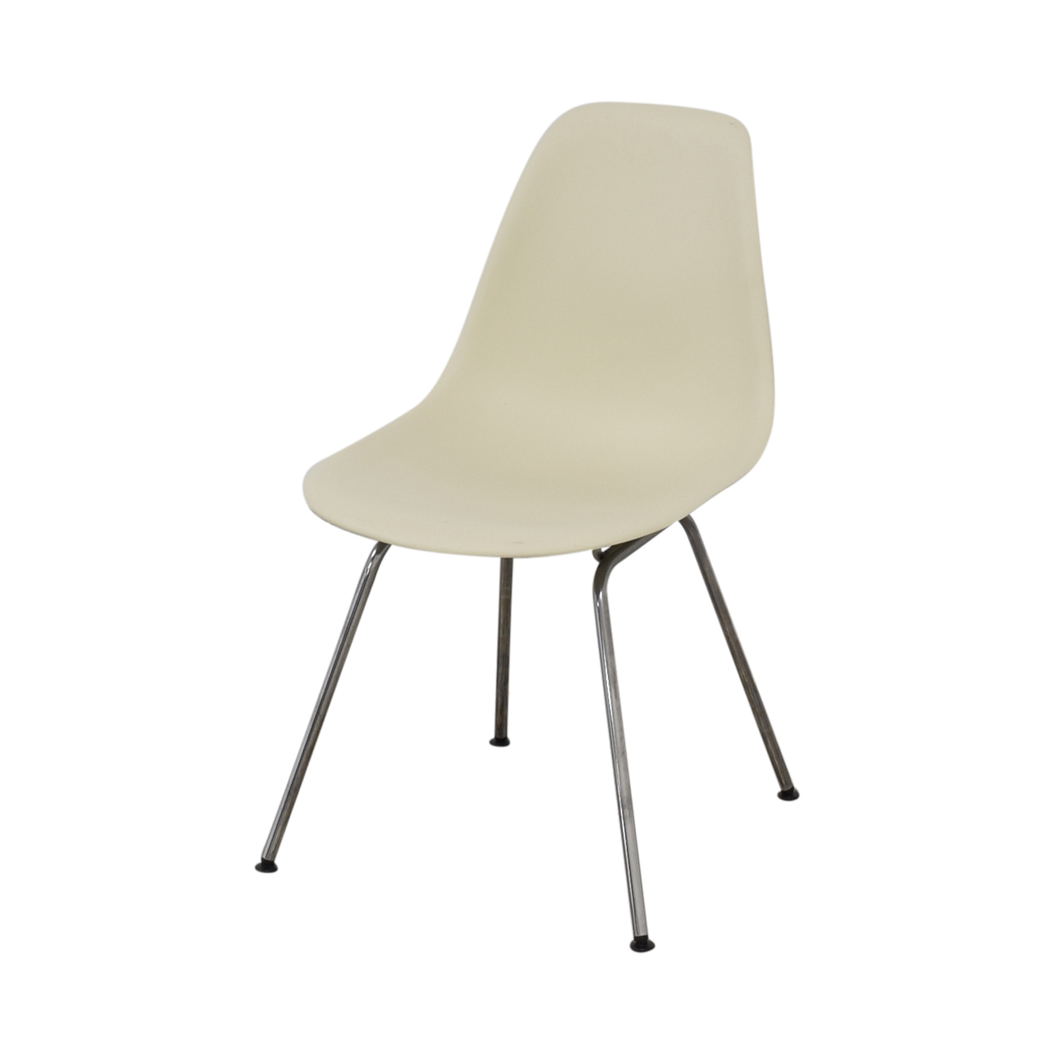 buy Design Within Reach Eames Molded Plastic 4 Leg Side Chair Design Within Reach Chairs