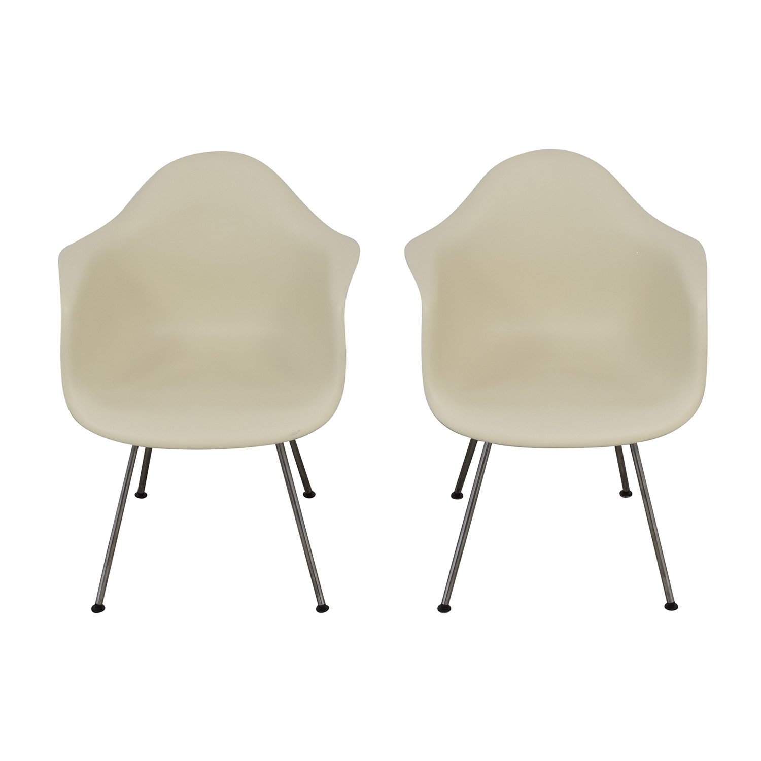 shop Design Within Reach Eames Molded Plastic 4 Leg Armchairs Design Within Reach Dining Chairs