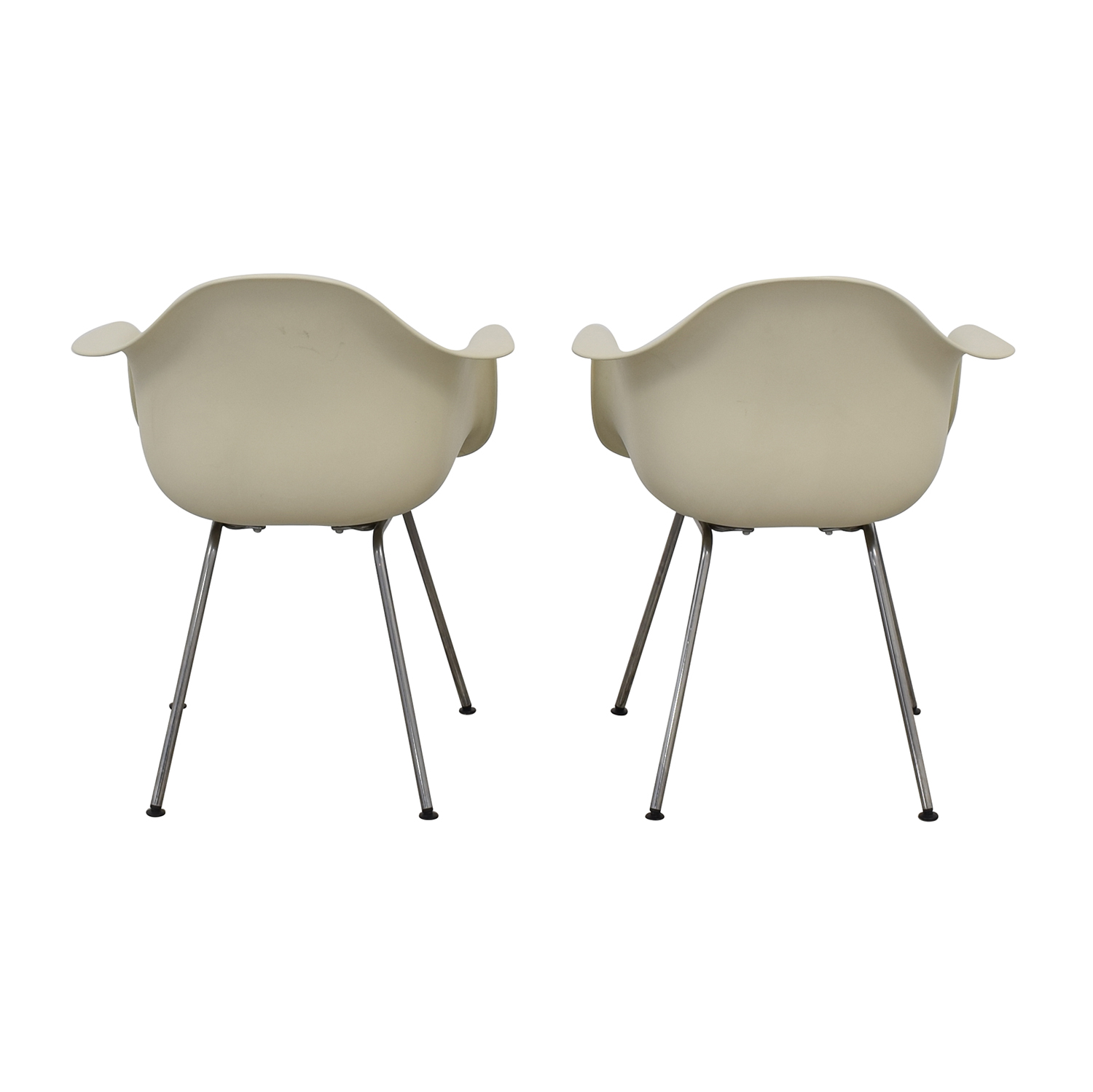 Design Within Reach Design Within Reach Eames Molded Plastic 4 Leg Armchairs Chairs
