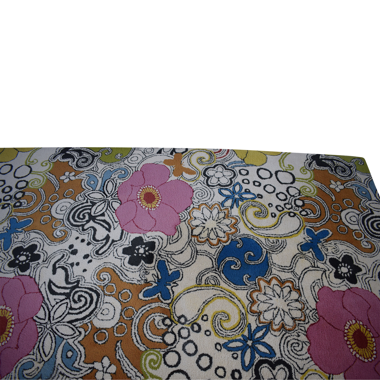 Suyra Goa Floral Rug sale