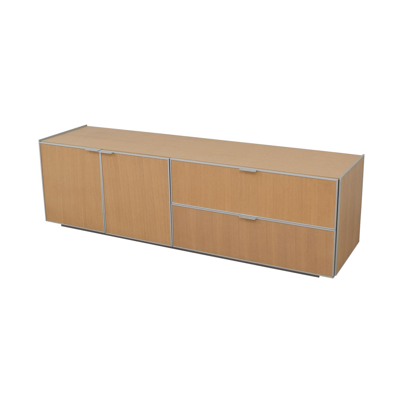 buy Natrona Contemporary Italian Credenza Natrona Cabinets & Sideboards