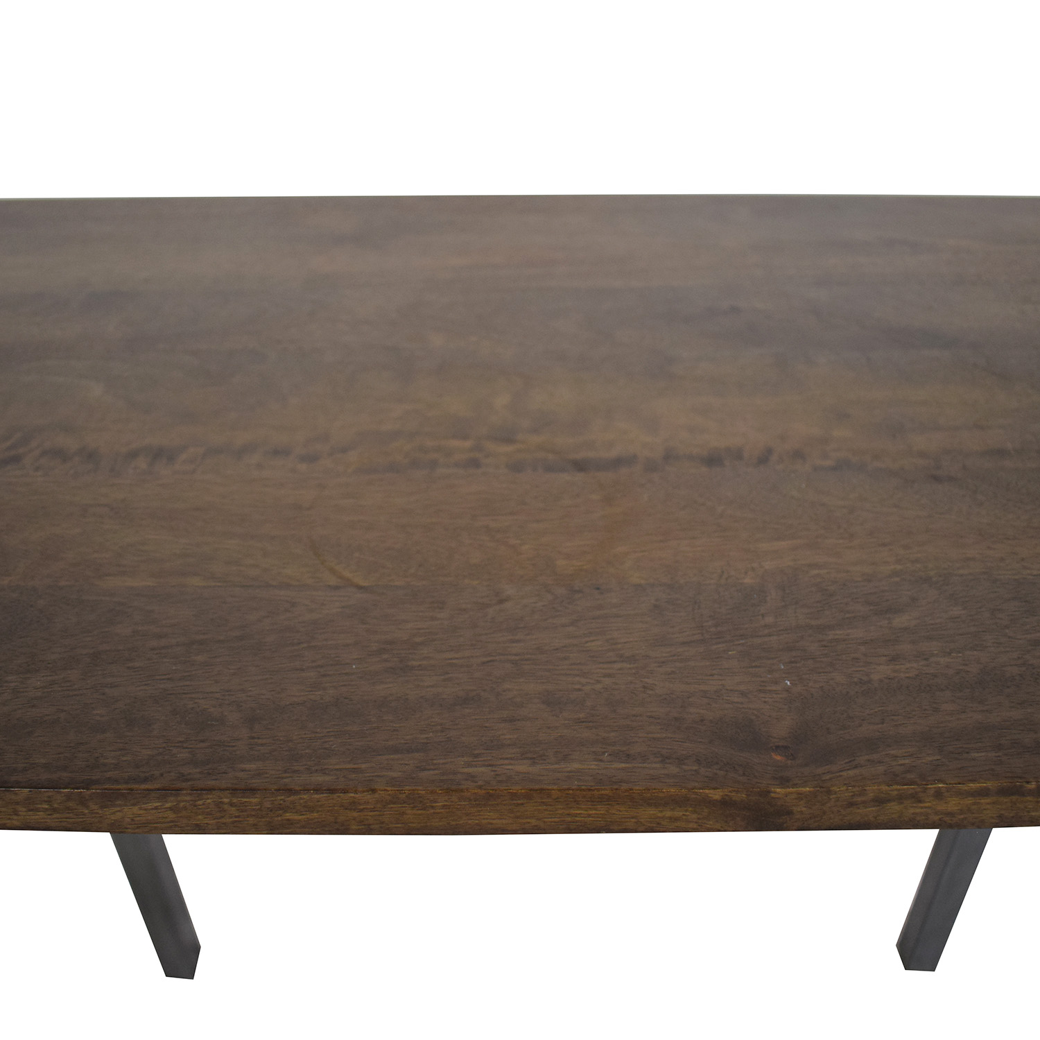 High Counter Table dark brown & grey