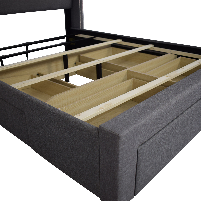 DG Casa DG Casa Savoy Storage Bed