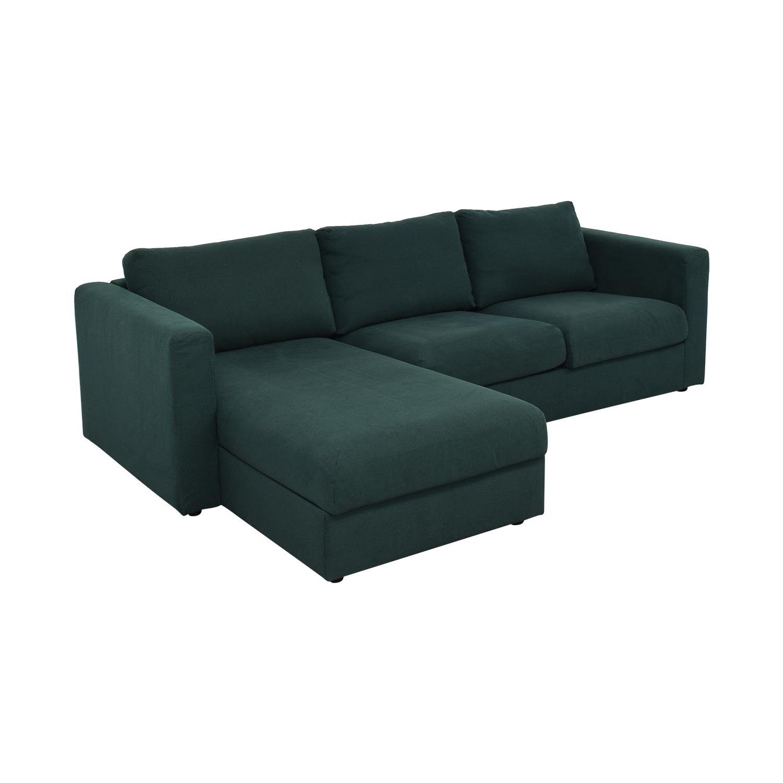 Ikea Storage Chaise Sectional Sofa