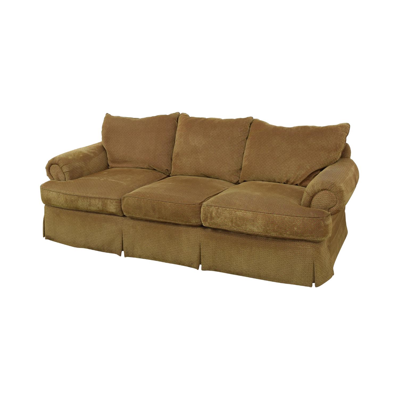 Thomasville Thomasville Three Seat Sofa with Ottoman