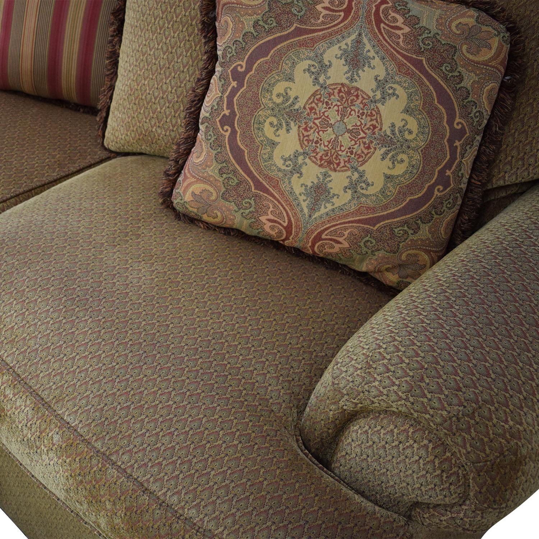 buy Thomasville Three Seat Sofa with Ottoman Thomasville Sofas