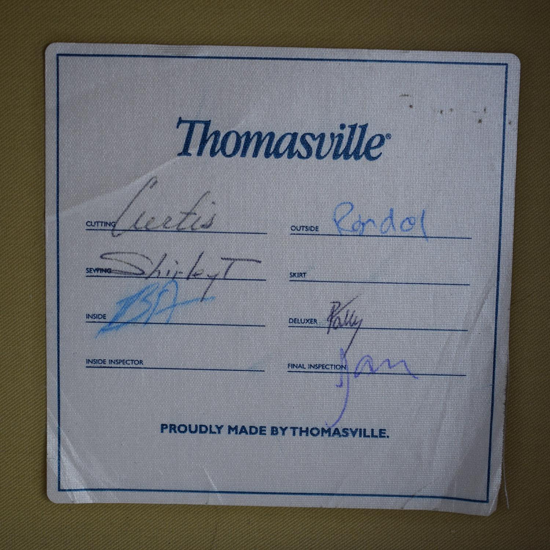buy Thomasville Thomasville Three Seat Sofa with Ottoman online