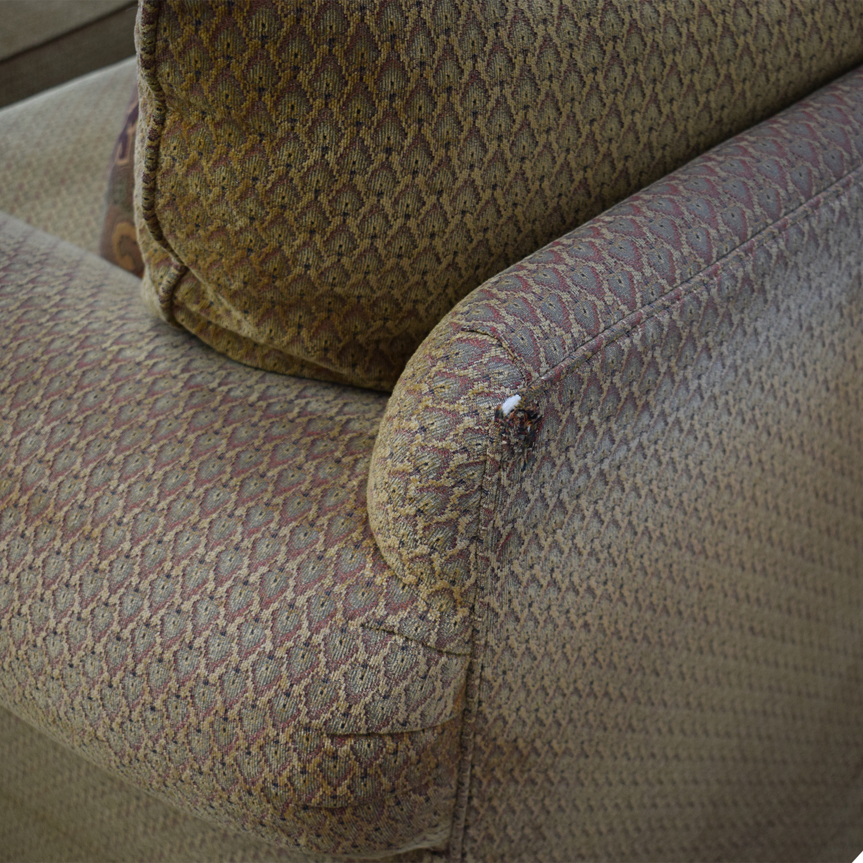 Thomasville Thomasville Three Seat Sofa with Ottoman nyc