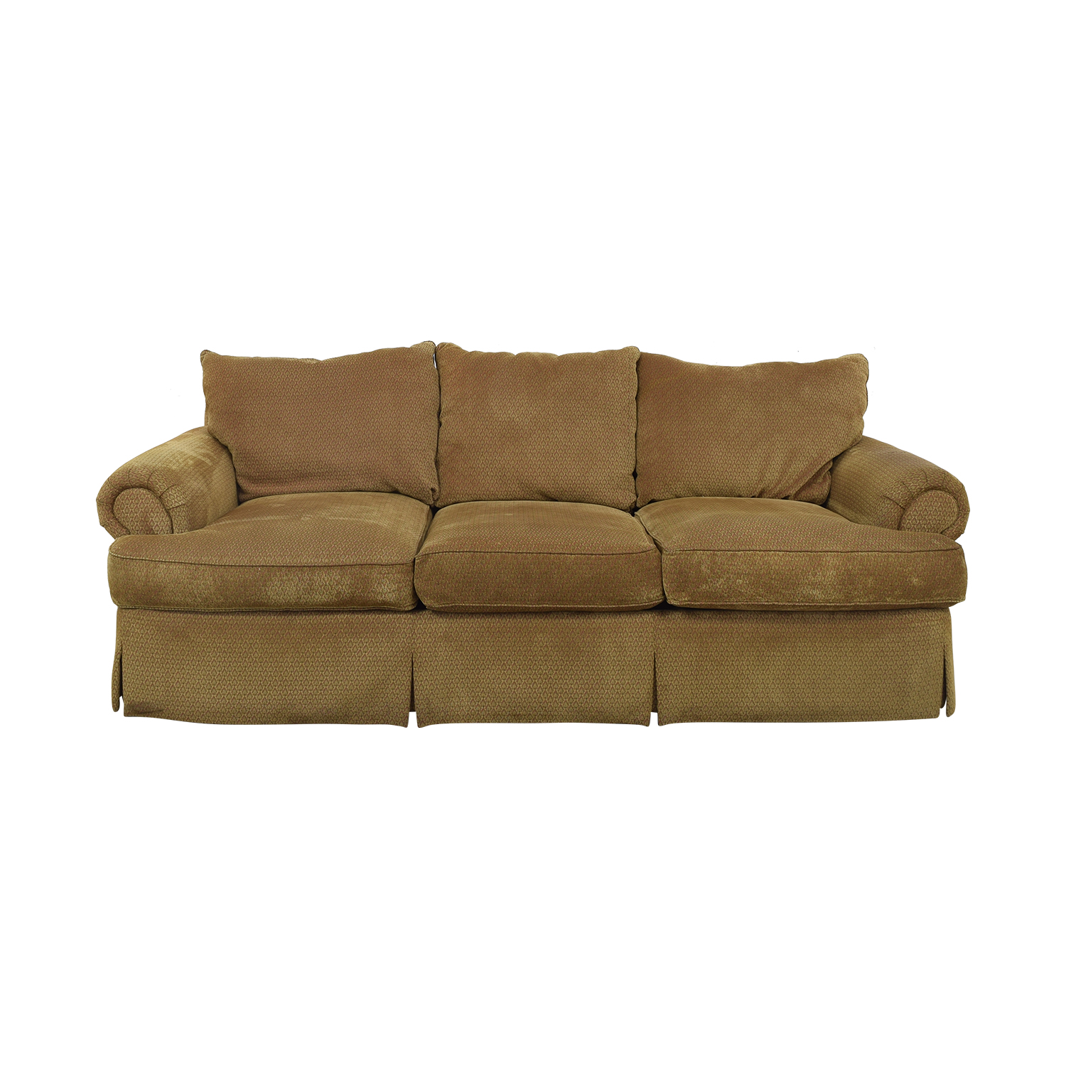 Thomasville Thomasville Three Seat Sofa with Ottoman Sofas