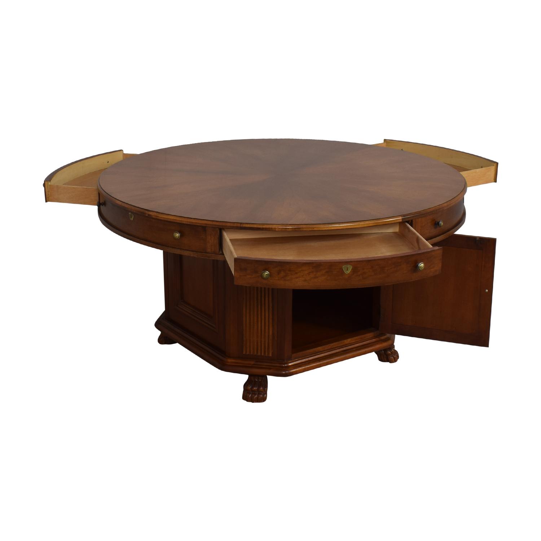 Drexel Heritage Drexel Heritage Round Dining Table brown