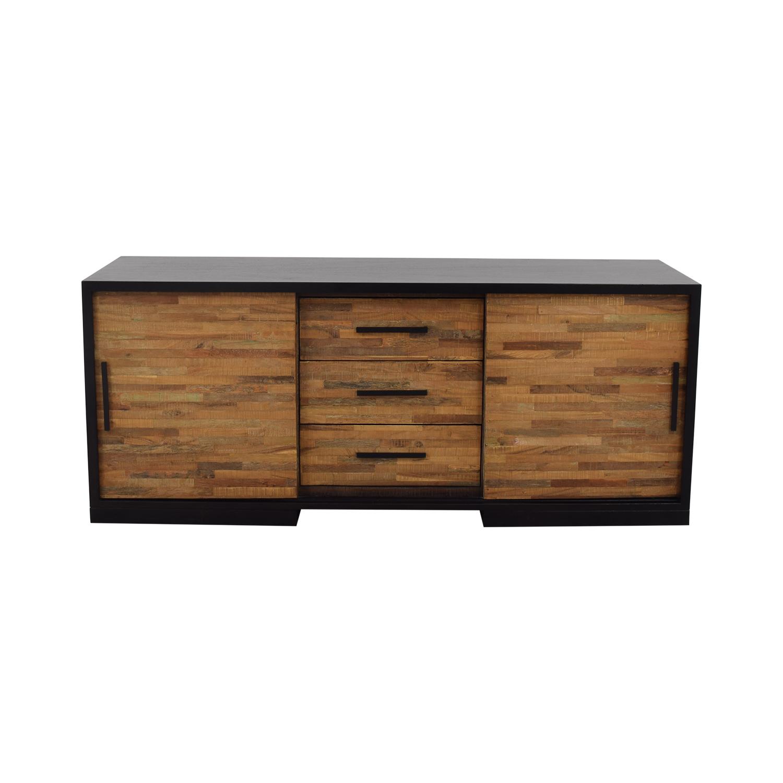 Crate & Barrel Seguro Media Console sale