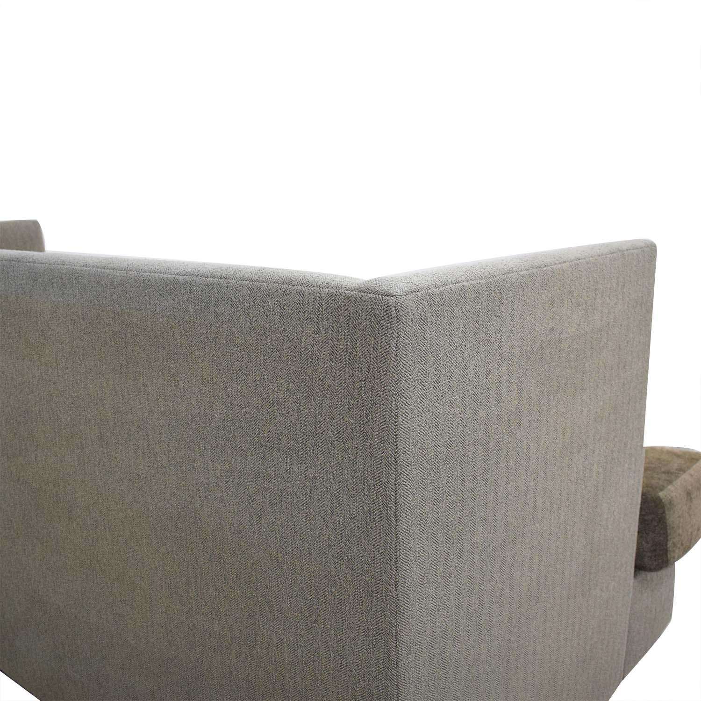 shop Crate & Barrel Milo Baughman Shelter Sleeper Sofa Crate & Barrel