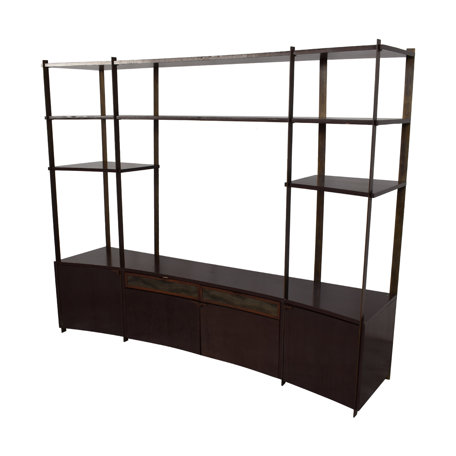 shop Custom Framework Entertainment Center  Storage