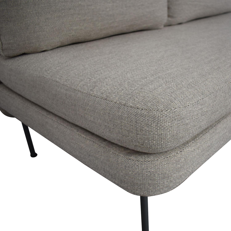Blu Dot Blu Dot Bloke Armless Sofa