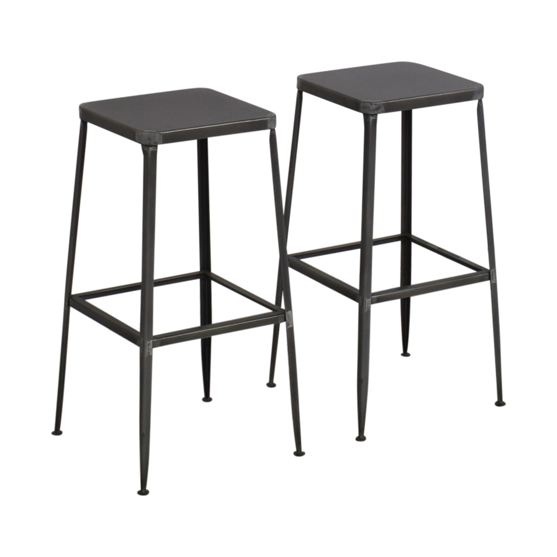 CB2 CB2 Flint Bar Stools Chairs