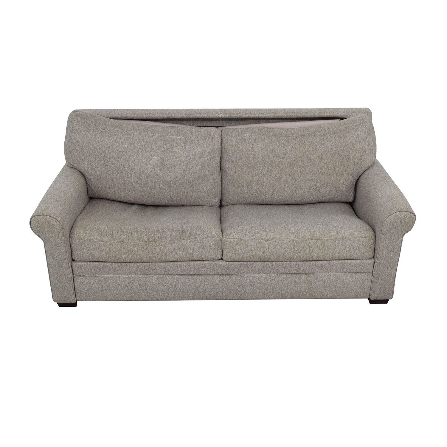 shop American Leather Gaines Queen Sleeper Sofa American Leather