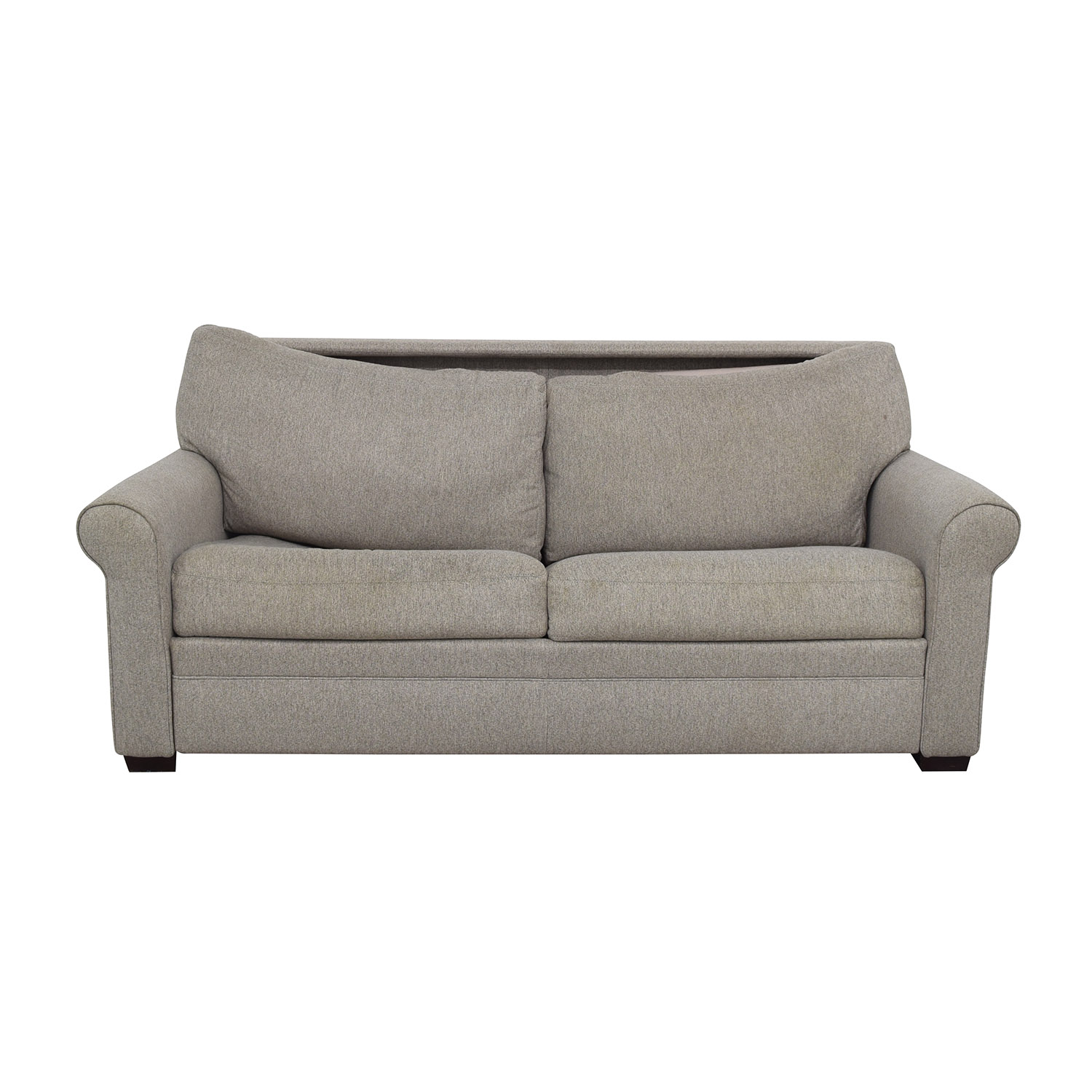 American Leather American Leather Gaines Queen Sleeper Sofa light grey