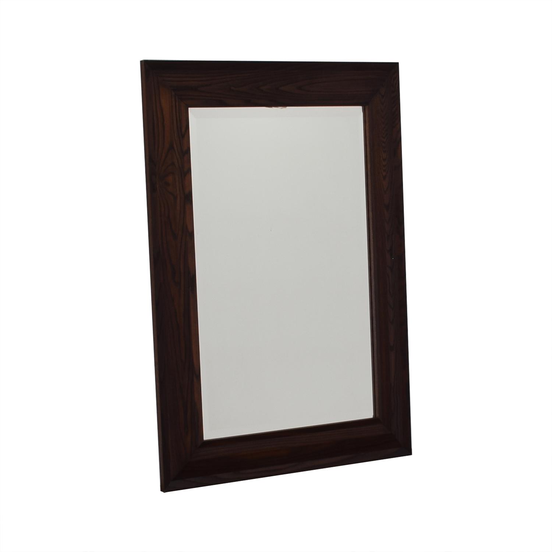 Crate & Barrel Oversized Rectangular Mirror sale