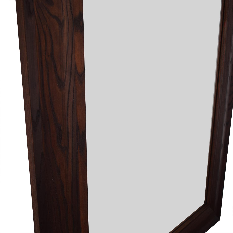 shop Crate & Barrel Oversized Rectangular Mirror Crate & Barrel Mirrors