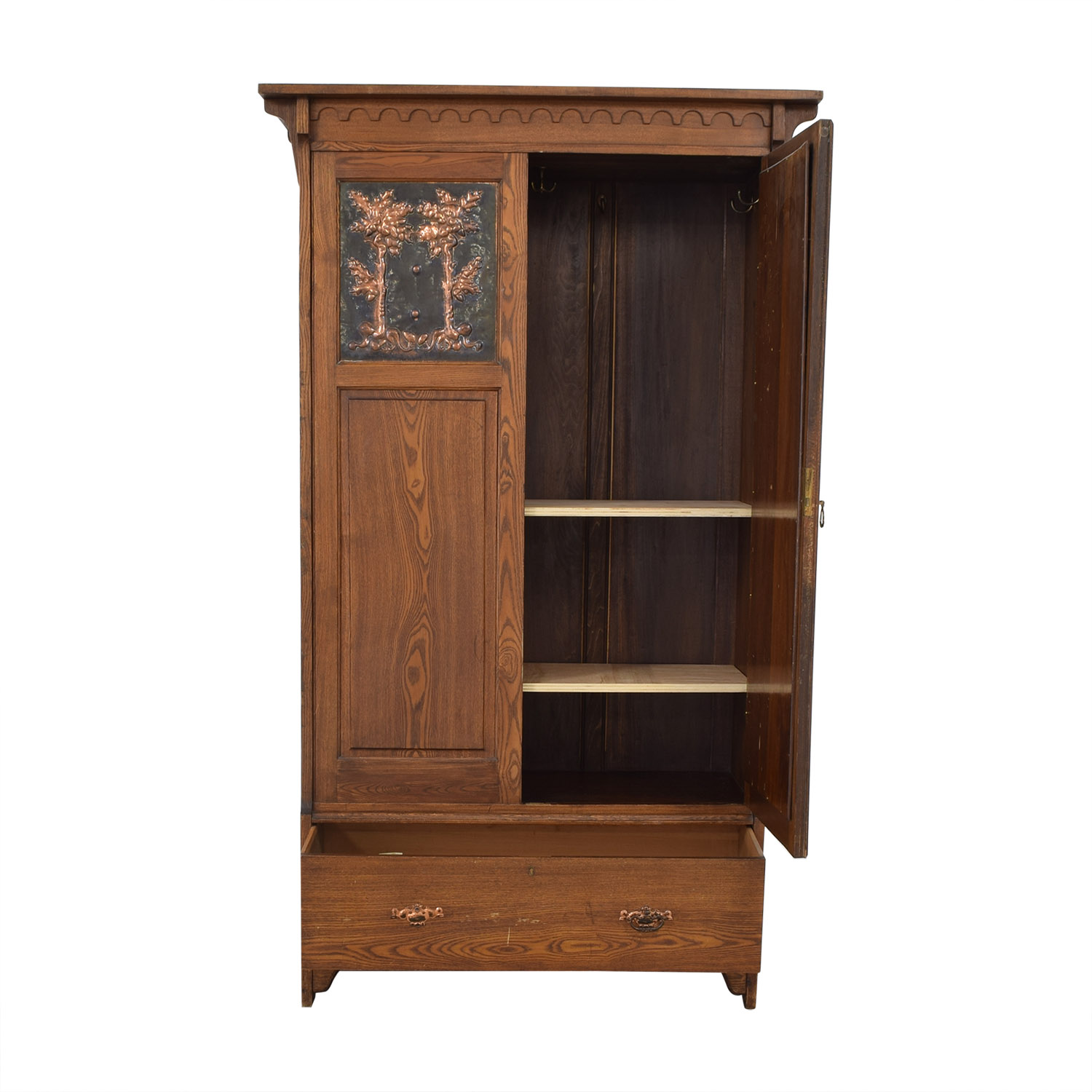 Vintage Arts and Crafts Armoire