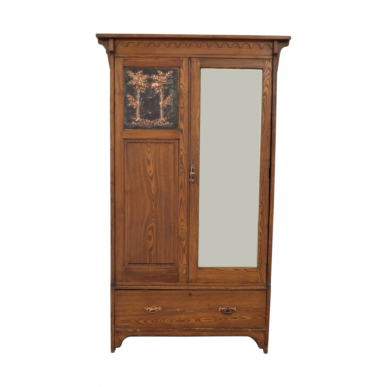 shop Vintage Arts and Crafts Armoire  Storage