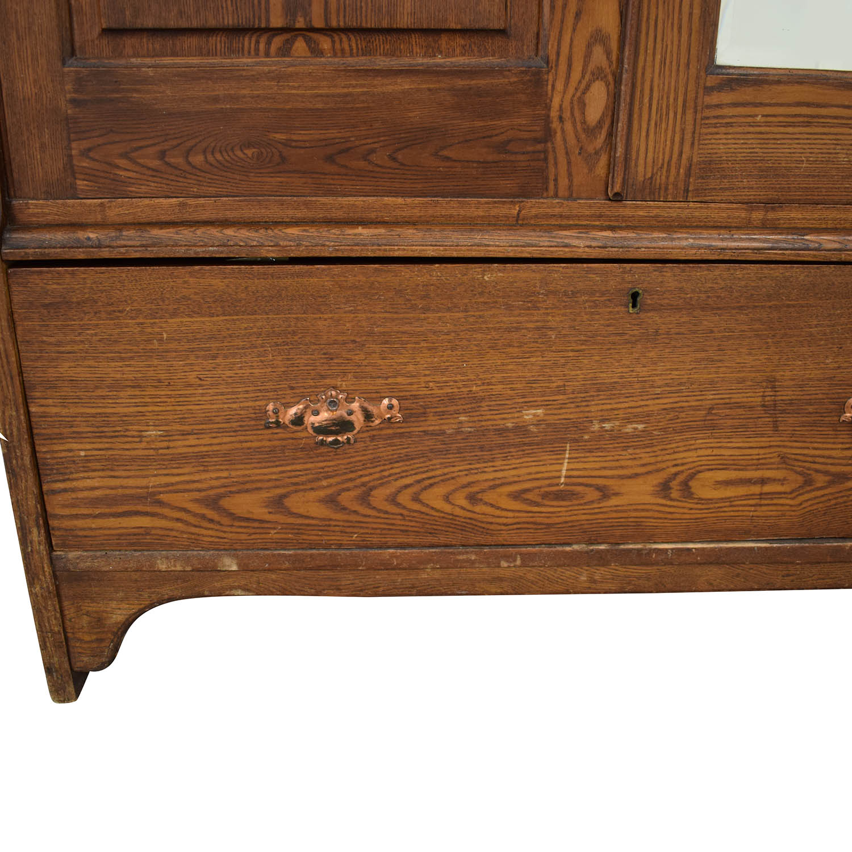 shop  Vintage Arts and Crafts Armoire online