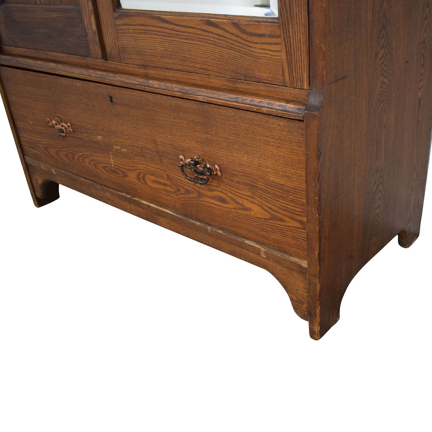 Vintage Arts and Crafts Armoire used