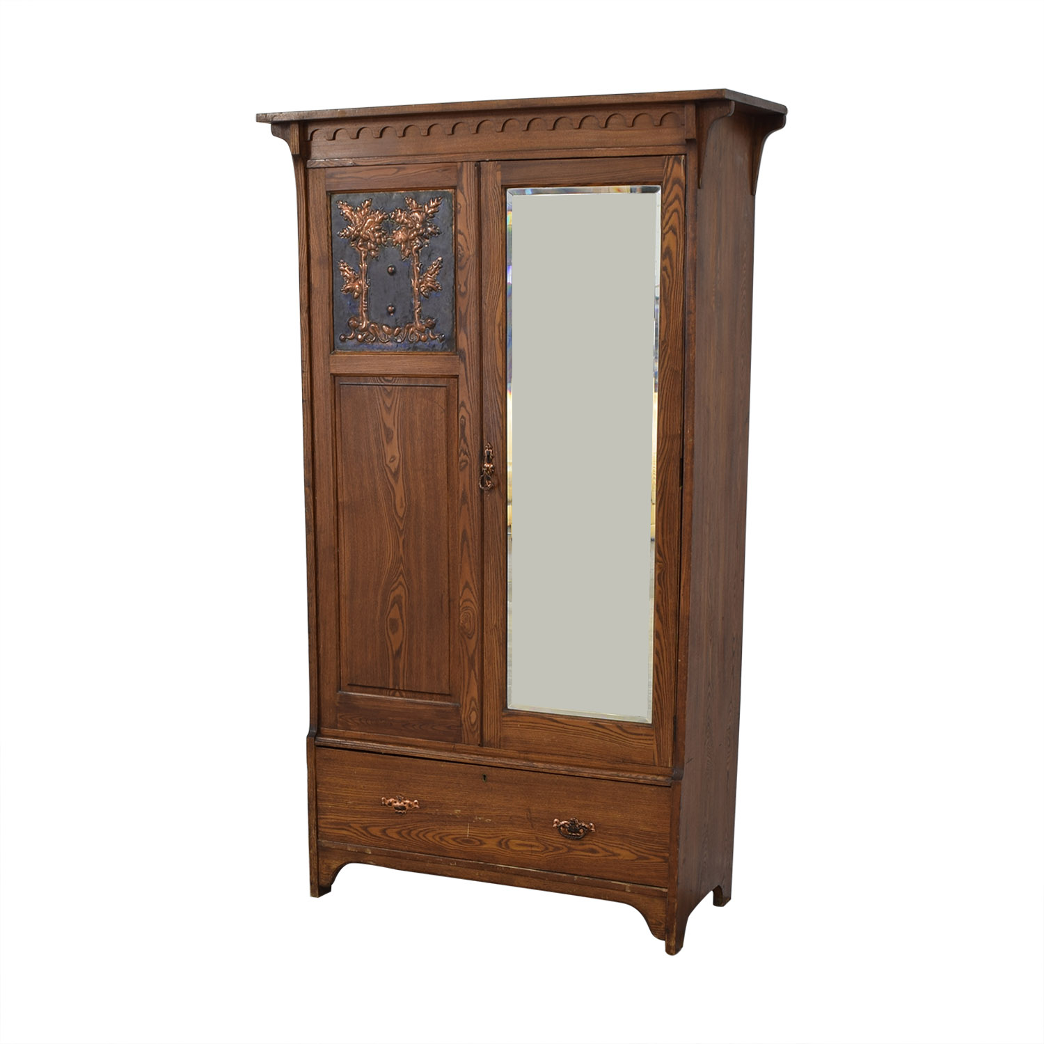 Vintage Arts and Crafts Armoire on sale