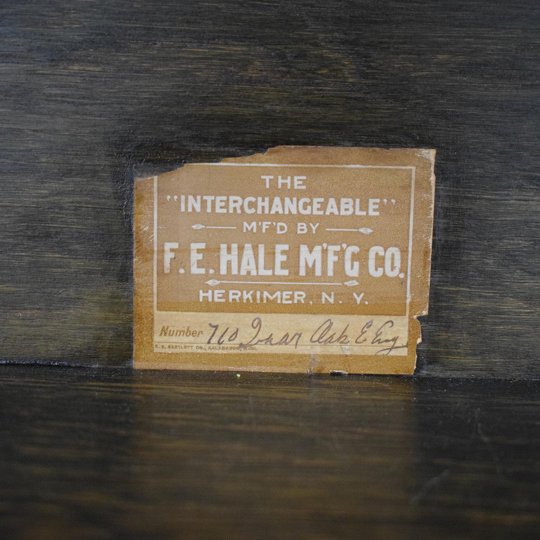 Hale Hale Manufacturing Early American Antique Secretary Home Office Desks