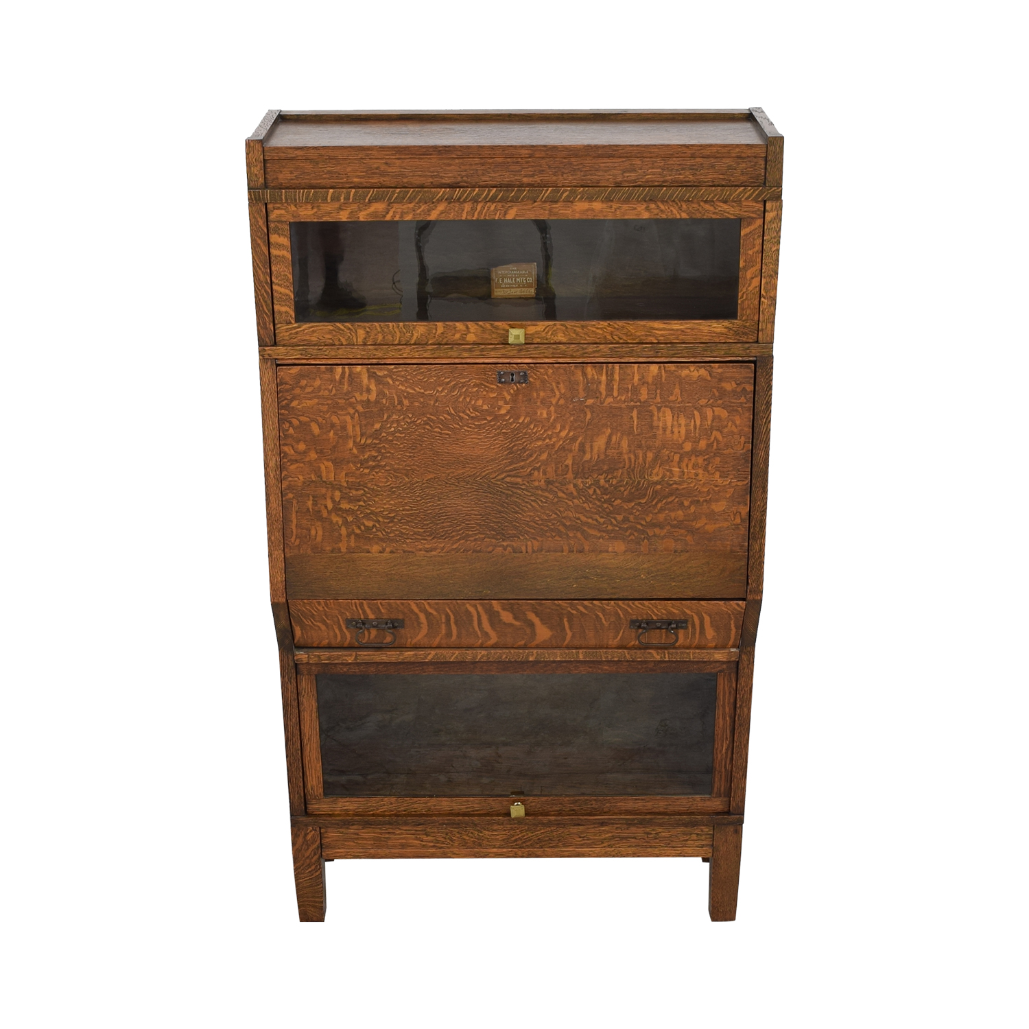 Hale Hale Manufacturing Early American Antique Secretary second hand