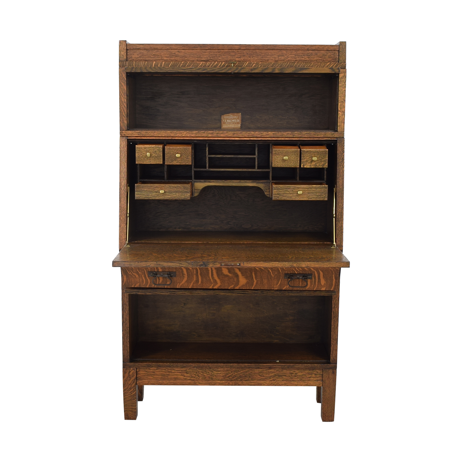 Hale Hale Manufacturing Early American Antique Secretary on sale
