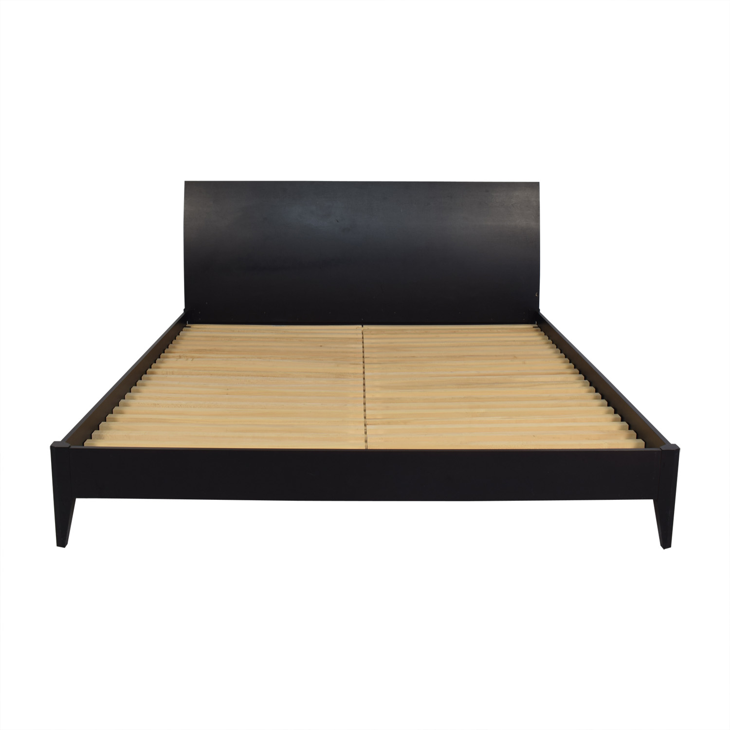 Baronet Baronet Wood King Bed Frame black