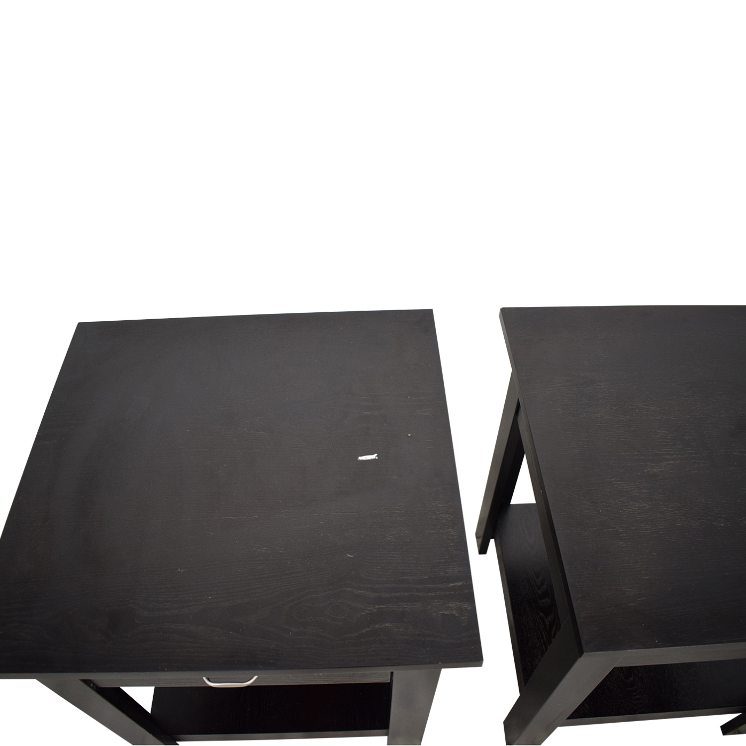 Single Drawer End Tables used