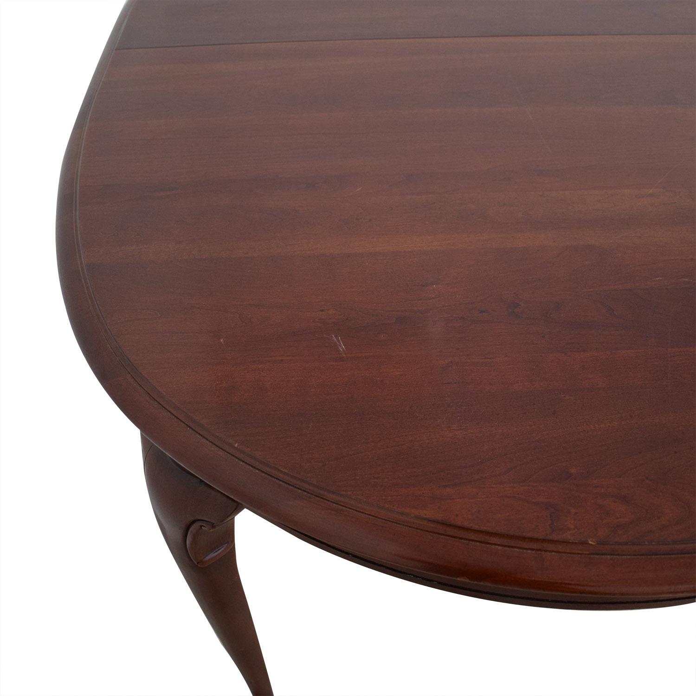 Kincaid Furniture Kincaid Extendable Dining table dimensions
