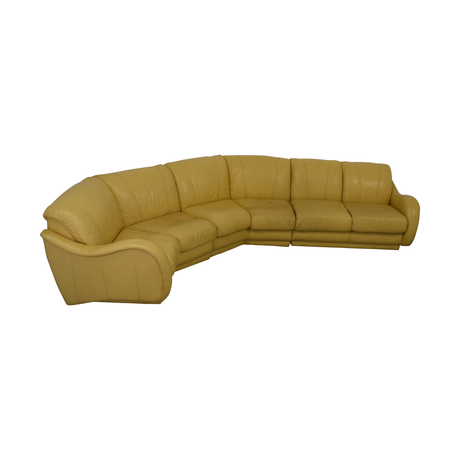 Leather Sectional Sofa second hand