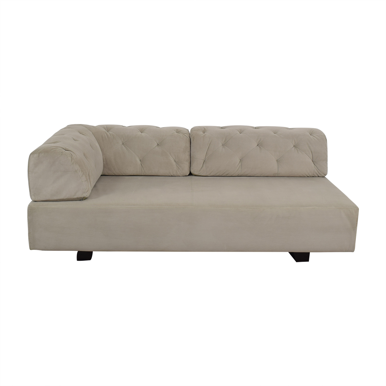 West Elm West Elm Tillary Tufted Sofa discount