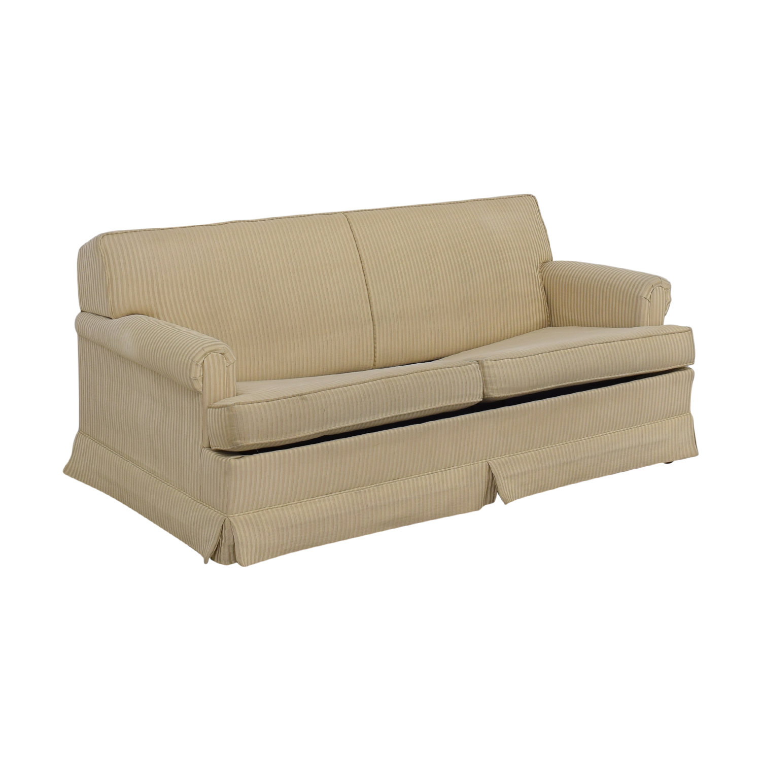 - 90% OFF - Stearns & Foster Stearns & Foster Two-Cushion Sleeper