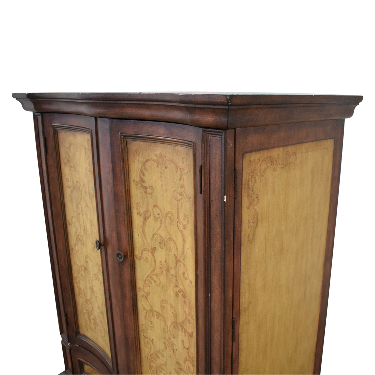 Rustic Two Door Armoire dimensions