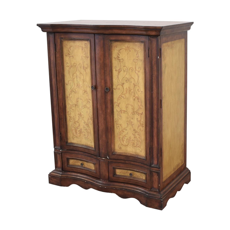 Rustic Two Door Armoire on sale
