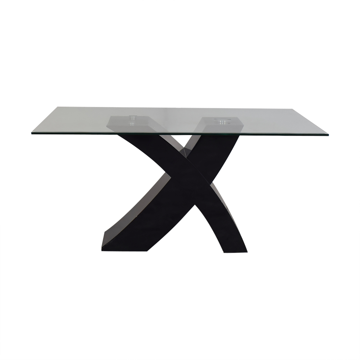 Glass Top Dining Room Table Dinner Tables