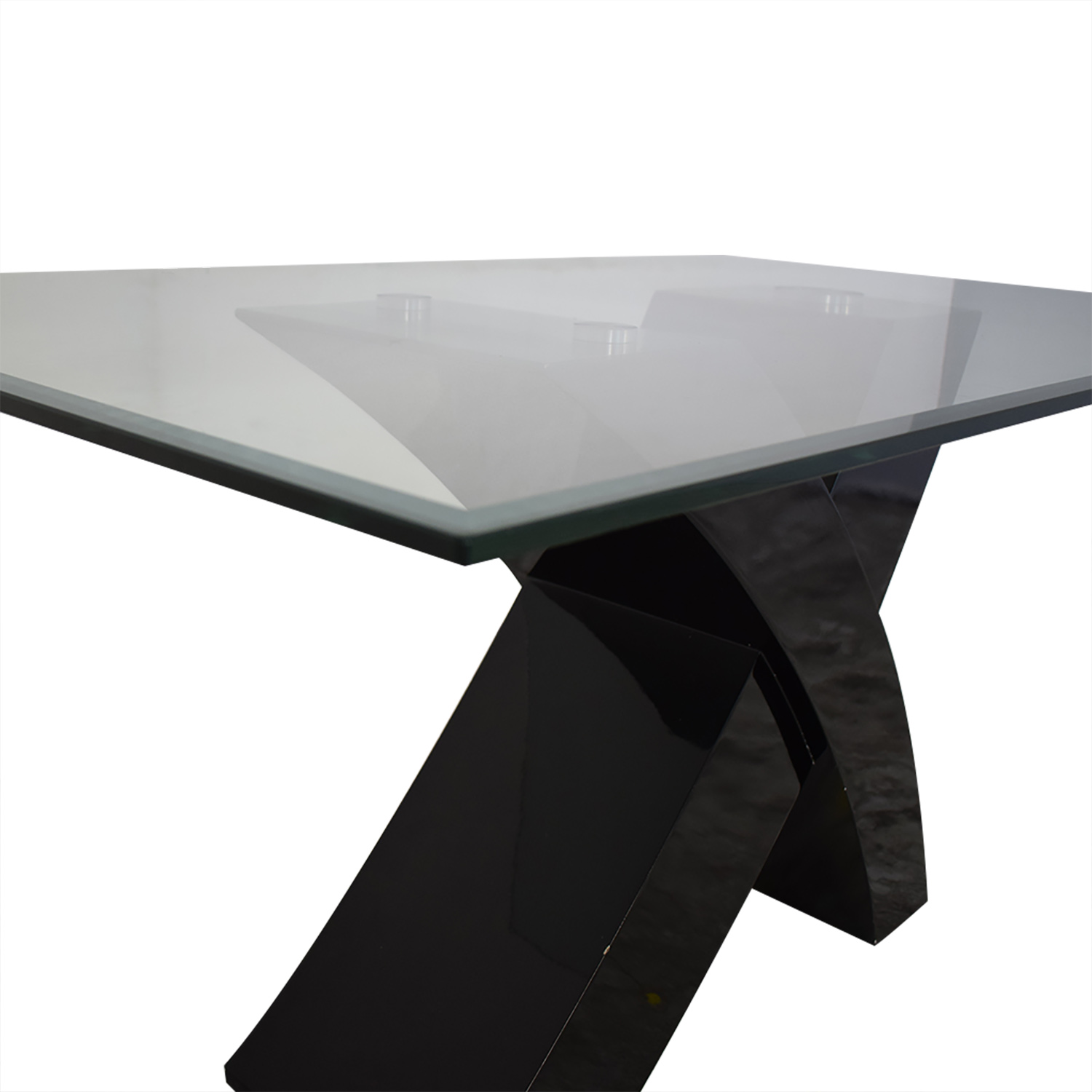 buy Glass Top Dining Room Table  Dinner Tables