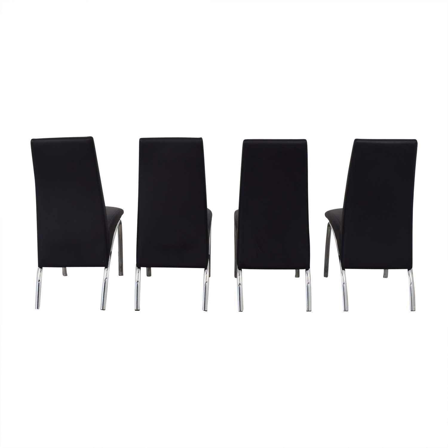 Coaster Fine Furniture Coaster Ophelia Leather Dining Chairs second hand
